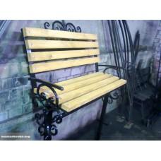 Скамейка на кладбище со спинкой